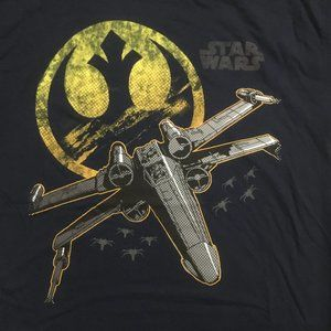 NWOT Star Wars X-Wing T-shirt Cotton Tshirt